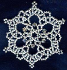 Snowflake #10 Ornament Pattern
