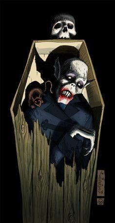 Nosferatu by mastaczajnik.deviantart.com on @DeviantArt