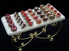 i so thought this was real food! it minature food made out of clay and resins