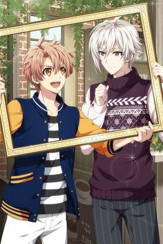 Izumi Mitsuki x Kujo Tenn Manga Boy, Manga Anime, Anime Art, Handsome Anime, Handsome Boys, Hot Anime Boy, Anime Guys, Estilo Anime, Anime Music