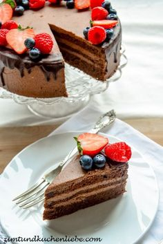 Chocolate butter cream cake – About Dessert World Jumbo Blueberry Muffin Recipe, Homemade Blueberry Muffins, Simple Muffin Recipe, Cranberry Muffins, Blueberry Oatmeal, Chocolate Torte, Chocolate Butter, Chocolate Cream, Pecan Recipes