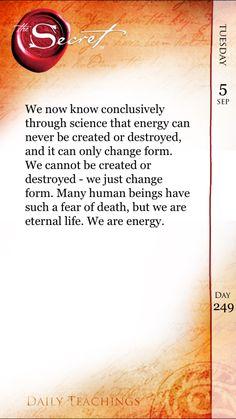 I am energy.