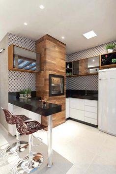 Kitchen Room Design, Home Decor Kitchen, Interior Design Kitchen, Mini Loft, Small Apartment Interior, Walk In Closet Design, Small Kitchen Storage, House Front Design, Home Design Decor