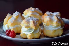 Mashed Potatoes, Cheesecake, Pudding, Cookies, Ethnic Recipes, Food, Pastries, Choux Pastry, Castle Diaper Cakes