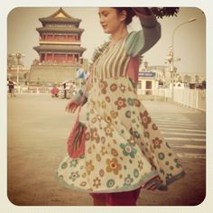 Flower dress - Beijing❤