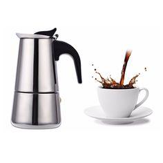 $9.46 (Buy here: https://alitems.com/g/1e8d114494ebda23ff8b16525dc3e8/?i=5&ulp=https%3A%2F%2Fwww.aliexpress.com%2Fitem%2F4-Cups-200ML-Stainless-Steel-Mocha-Espresso-Latte-Percolator-Coffee-Maker-Pot-for-Home-with-Ergonomic%2F32734951780.html ) 4 Cups 200ML Stainless Steel Mocha Espresso Latte Percolator Coffee Maker Pot for Home with Ergonomic plastic handle design for just $9.46