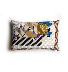 Ya Gharami | 'Pattern & Print' cushion collection Terrazzo Tile, Tiles, Pattern Print, Print Patterns, Velvet Video, Printed Cushions, Marble Floor, Velvet Cushions, Rattan