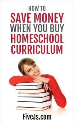 Great ideas for how to save money when buying homeschool curriculum