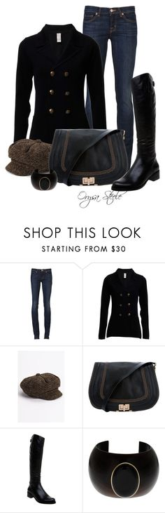 """""""Equestrian"""" by orysa ❤ liked on Polyvore featuring J Brand, Halogen, Chloé, Dune, chloe and j brand"""