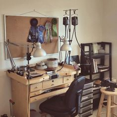 The new studio setup is almost done and I'm ready to play again!  I will be busy designing and making new one of a kind pieces, earrings, necklaces, bracelets and cuffs, to fill up my Etsy Shop with unique, handmade, silver, pearl, and gemstone jewelry :)