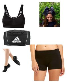 """""""Dance Practice"""" by stayxdarling on Polyvore featuring Bally Total Fitness and adidas Dance Stuff, Swim Wear, Gym Shorts Womens, Swimming, Adidas, Workout, Shoe Bag, Fitness, Polyvore"""