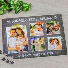 Egyedi fényképes kirakó fényképekkelLepje meg barátait, ismerőseit vagy családtagjait ezzel az egyedi fényképes kirakóval. Legyen szó karácsonyról, születésnapról vagy csak egy személyre szóló meglepetésről, ennek az ajándéknak biztosan mindenki örülni fog. A kirakón most igazán számítanak a részle... Puzzle, Puzzles, Puzzle Games, Riddles