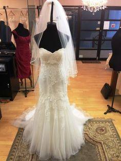 Skarr wedding Veil Wedding Veil, Mermaid Wedding, Lace Wedding, Wedding Dresses, Bridal Accessories, Fashion, Moda, Bridal Dresses, Alon Livne Wedding Dresses