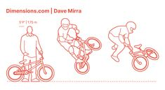 Dave Mirra was an American BMX rider who is known for holding the most X Games medals in the BMX Freestyle event. He joined the Haro Bikes BMX team in 1987 at the age of 13 and turned professional in 1992. Dave Mirra was primarily a vert ramp and park rider and is tied with Tony Hawk and Joe Parsons to being the fastest to reach 14 X Game medals. Downloads online #sports #bmx