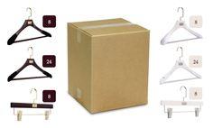 #31. Women's & Men's 80 Hanger Multipack - Gift Set #$$1,090.00