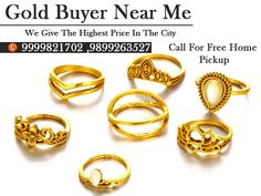 Are you looking for gold buyers so, we provide instant cash for various metal like gold, silver and diamond. You can sell any kind of gold like scrap, old or new. Call us on 9999821722.
