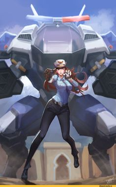 Officer D. Overwatch Video Game, Overwatch Fan Art, Overwatch Community, Overwatch Wallpapers, Fanart, Heroes Of The Storm, Widowmaker, Cool Animations, Video Game Characters