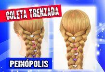 Peinados Trenzados con Ligas