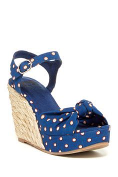 BC Footwear Light Of Day Wedge Sandal