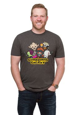 Chibi Guardians of the Galaxy Shirt ~ $20 ~ Marvel Gifts!