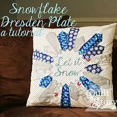 Bloglovin snowflake deaden plate