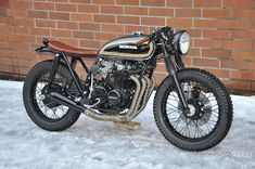HondaCB 550 by Seaweed & Gravel Cafe Racer #motorcycles #caferacer #motos | caferacerpasion.com