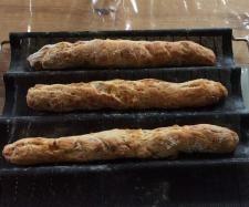 Recette Baguettes apéritives aux lardons et Comté par oupslala25 - recette de la catégorie Pains & Viennoiseries