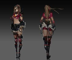 ArtStation - CF_femal concept work, mook eun