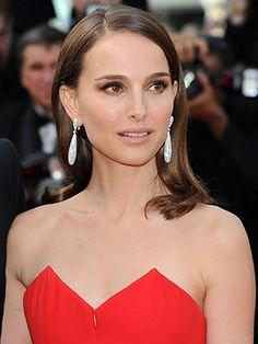 Makeup nude pour Natalie Portman à la beauté naturelle !