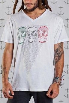 Camiseta Non Dvcor Duasqui Facies -  http://cincocincozero.com/camisetas-nondvcor/camiseta-masculina-non-dvcor-non-10-0004-02