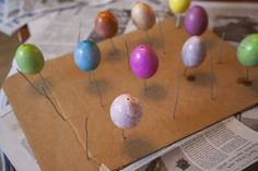 Easter Egg Drying Rack