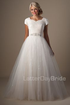 Modest Wedding Dresses : Marillion. Latter Day Bride, Gateway Bridal & Prom