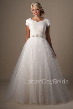 Modest Wedding Dresses : Marillion. Latter Day Bride, Gateway Bridal & Prom