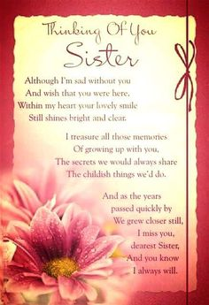 Missing My Sister In Heaven Poems Sister : I Miss Those Who Are - - jpeg Loss Of A Sister, I Miss My Sister, My Sweet Sister, Baby Sister, Missing My Sister Quotes, Heaven Poems, Heaven Quotes, Birthday Poems, Sister Birthday Quotes