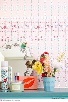 Eijffinger + RICE = Happy Walls #behang #interieur #eijffinger