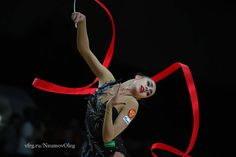 Margarita Mamun (Russia) got 19.233 points for RIBBON in all-around finals at Olympic Games 2016