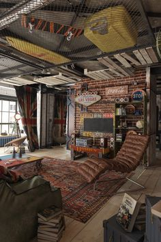Urban Style Interior Design Ideas For Men's Apartment - RooHome | Designs & Plans