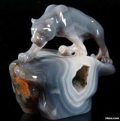 Agate Crystal Leopard
