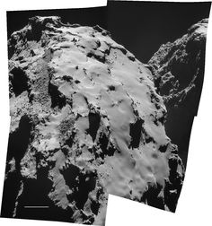 The Rosetta spacecraft's Philae lander is attempting to land on Comet