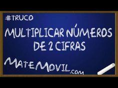 Como Multiplicar Números de 2 Cifras Rápidamente