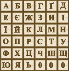 The Ukrainian alphabet Ukrainian Recipes, Ukrainian Art, Cyrillic Alphabet, Learn Polish, Ukrainian Language, Canadian History, My Heritage, Soviet Union, Languages