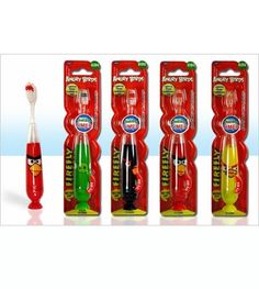 Angry Birds Flashing Child's Toothbrush  - Save 54% - Just $6.00