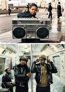 1980's Hip Hop!  Love it!