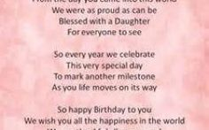 Happy Birthday Quotes For First Born Daughter