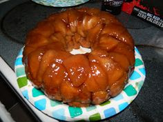 Chubby Vegan Mom: Monkey bread ... so easy a monkey could literally make it