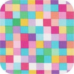 Rainbow Remix - Square Grid in Sweet