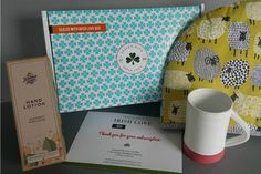 Sealed with Irish Love Box Monthly Subscription Boxes, Love Box, Hand Lotion, Love Gifts, Creative Gifts, Seal, Irish, Stationery, Ireland