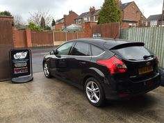 2014 Ford Focus in this morning for 18% carbon tint to the rear.
