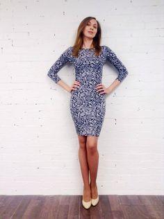 Трикотажное платье #flappersworkshop