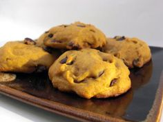Pumpkin chocolate chip cookies.  A little piece of heaven!